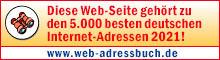 Diese Internet-Seite gehört zu den 5.000 besten Surftipps im Web-Adressbuch 2021!