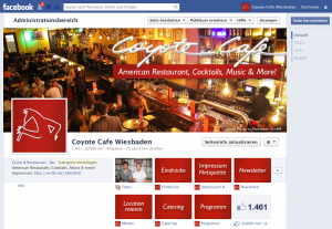 Coyote Cafe Wiesbaden - Chronik