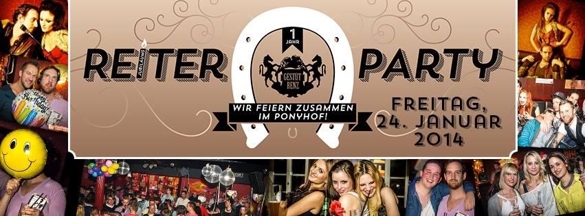 Reiter-Party - Titelbild