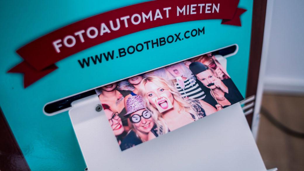 Fotoboxen Vermietung