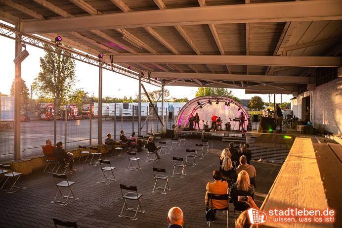 Ihr Event bei uns! In der Pop-Up Eventlocation des Wiesbadener Veranstalterbunds