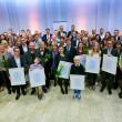 Eine besondere Blume für die Stadtleben GmbH: die Goldene Lilie für soziales Engagement