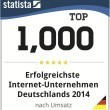STADTLEBEN ist eines der 1000 erfolgreichsten Internet-Unternehmen