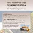 """""""Tourismuspreis für meine Region"""" erhält Unterstützung durch die Stadtleben GmbH"""