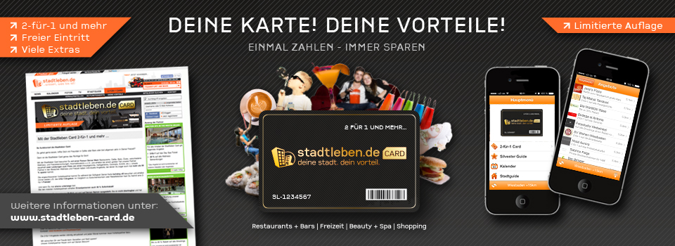 Stadtleben Card